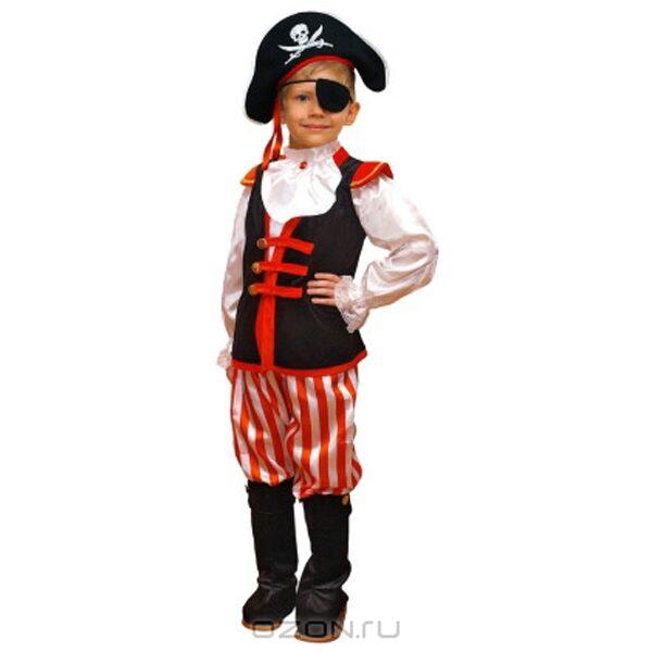 Пират костюм на рост 110 120см продажа