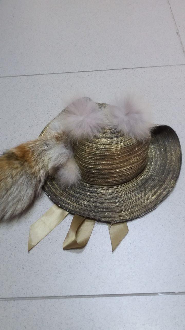 Как сделать шляпку для лисы алисы своими руками